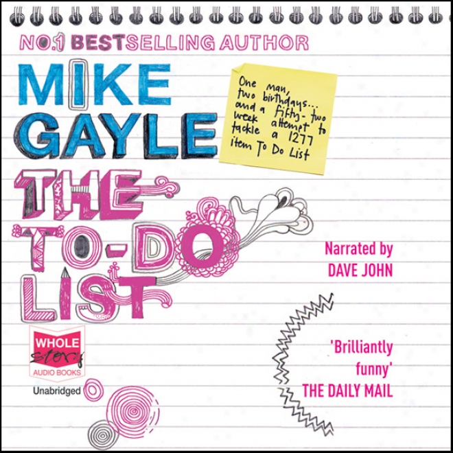 The To Do List (unabridged)