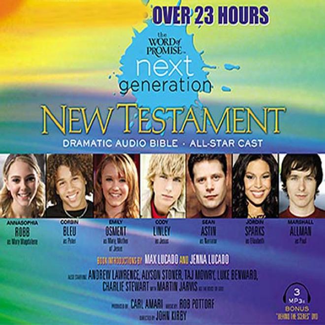 The Word Of Promise Next Generation Audio Bible: Icb (umabridged)