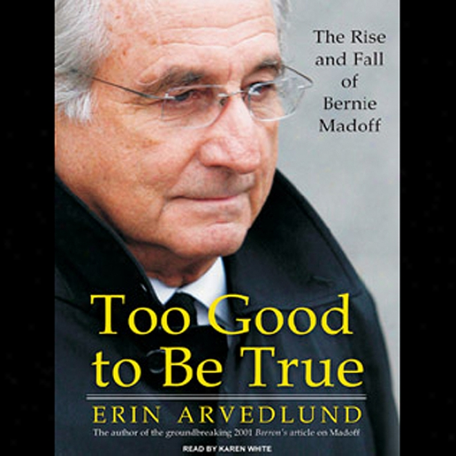 Too Good To Be True: The Rise And Fall Of Bernie Madoff (unabridged)