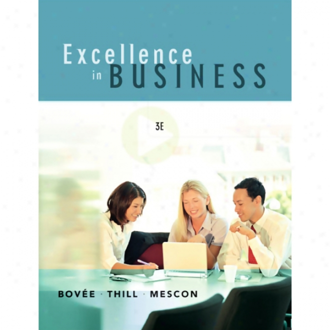 Vangonotes On account of Excellence In Business, 3/e