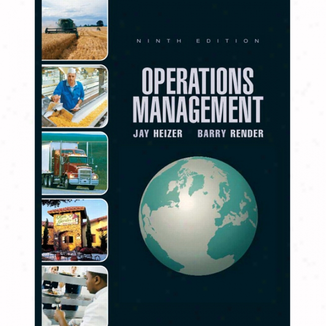 Vangonotes For Operations Management, 9/e