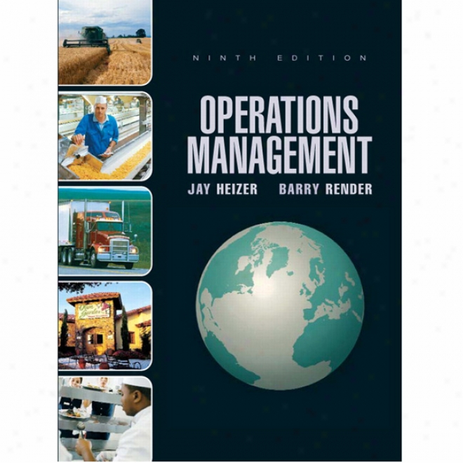 Vangonotes For Operations Manwgement, Flexible Version, 9/e