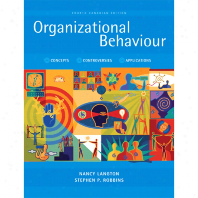 Vangonotes For Organizational Behavviour, Fourth Canadian Edition