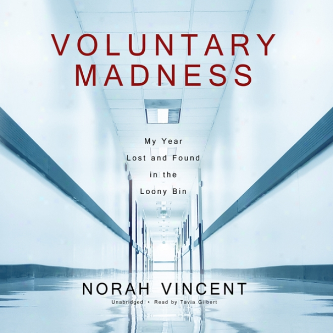 Volunary Madness: My Year Lost And Found In The Loony Bin (unabridged)