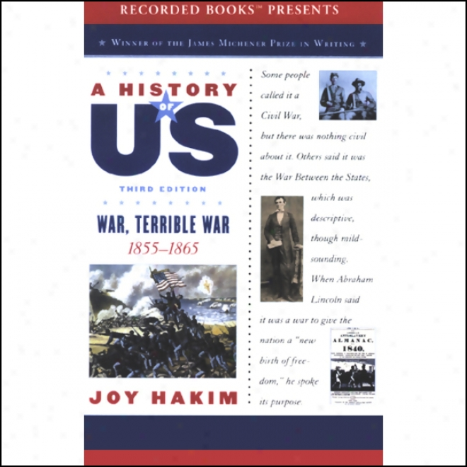 War, Terrible War: A History Of Us, Book 6 (unabridged)