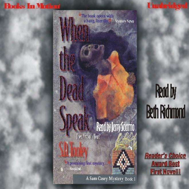 When The Dead Speak: Sam Casey, Book 1 (unabridged)