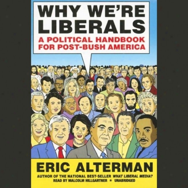 Why We're Liberals: A Civil Handbook For Post-bush America (unabridged)
