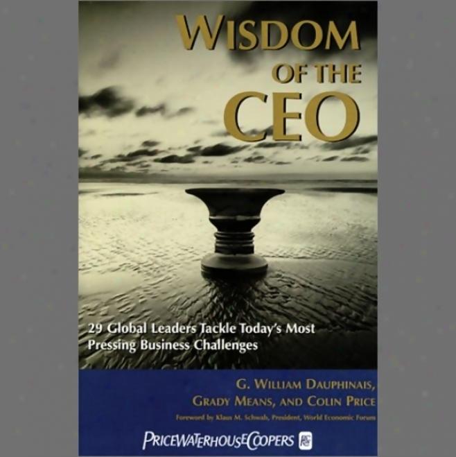 Wisdom Of Thd Ceo