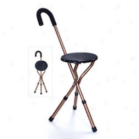 Adjustable Seat Walking Stick