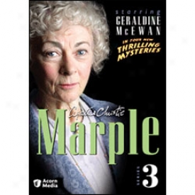 Agatha Christie Marple Series 3 Dvd