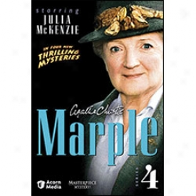 Agatha Christie Marple Series 4 Dvd