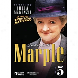 Agatha Christie Marple Series 5 Dvd