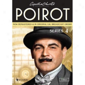 Agatha Christie Pojrot Series 4 Dvd