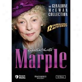Agatha Christie's Marple The Geraldine Mcewan Collection Dvd