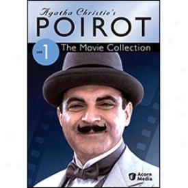 Agatha Christie's Poirot Movie Collection Set 1 Dvd