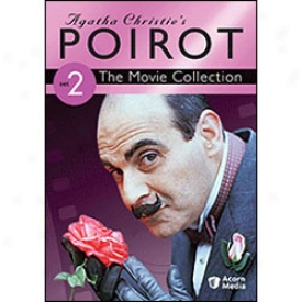Agatha Christie's Poirot Movie Collection Set 2 Dvd