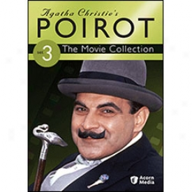 Agatha Christie' Poirot Movie Collection Set 3 Dvd