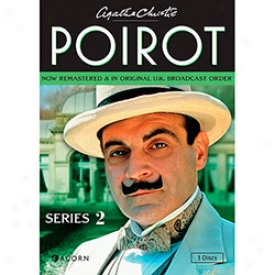 Agatha Christie's Poirot Series 2 Dvd
