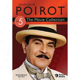 Agatha Christie's Poirot The Movie Collection Set 5 Dvd