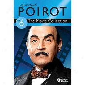Agatha Christie's Poirot The Movie Collection Set 6 Dvd