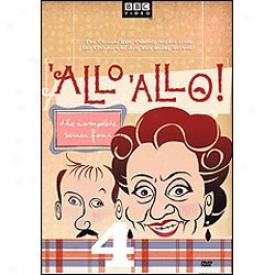 Allo 'allo! Series 4 Dvd
