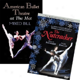 Americwn Ballet Theatre Set Nutcracker Suite & At The Met Dvd
