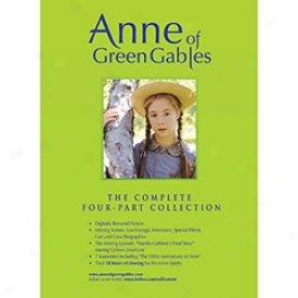 Anne Of Unripe Gables Complete Four Part Collection Dvd