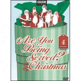 Are You Sentient Served? Christmas Dvd