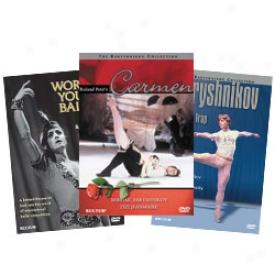 Baryshnikof Collection Dvd