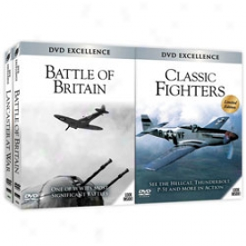 Battl Of Britain And Classic Fighters Set Dvd