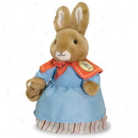 Beatrix Potter Plush Collectible: Mrs. Rabbit