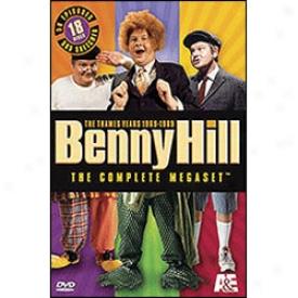 Benny Hill Complete Megaset Sets 1-6 Dvd