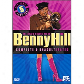 Benny Hill's Angels Years Set 5 Dvd