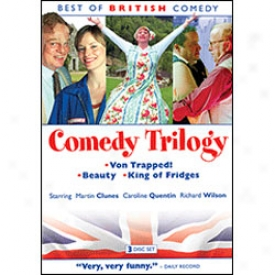 Best Of British Comedy Comedy Trilogy Dvd