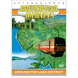 B5itish Rail Journey Lake District Dvd