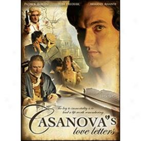 Csaanova's Love Letters Dvd