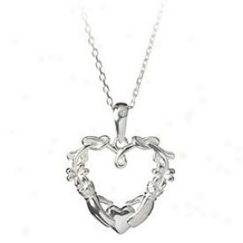 Claddagh Disposition Pendant