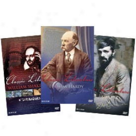 Classic Literature Bios: Shakesprare, Lawrence And Hardy Dvd