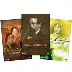 First-rate work  Literature Bios: The Bronte's, Austen And Dickens Dvd