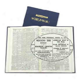 Commemorative London Times World War I Newspaper Book