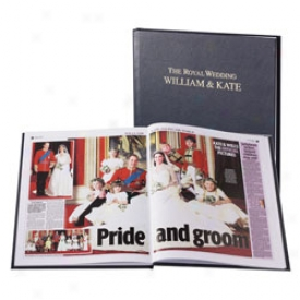 Commemorative Royal Weeding Nespaper Book Book