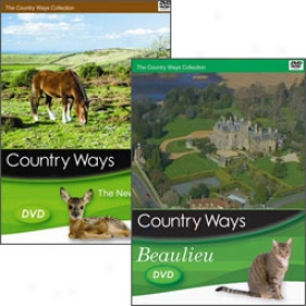 Country Ways New Forst And Beaulieu Dvd