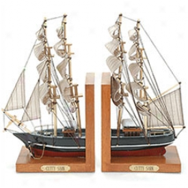 Cutty Sark Bookends