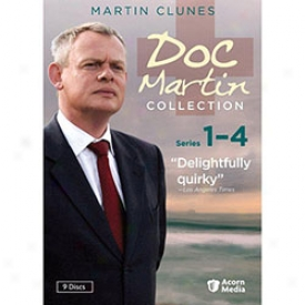 Doc Martin Collection Succession 1 To 4 Dvd