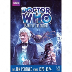 Doctor Who Plante Of The Spiders Dvd