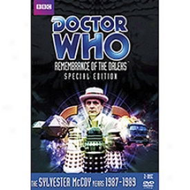 Doctor Who Remembrance Of The Daleks Special Edition Dvd