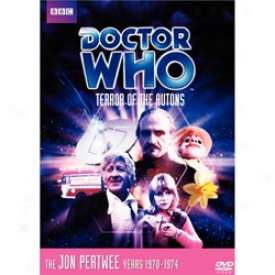 Doctor Who Terror Of The Autons Dvd
