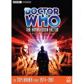 Doctor Who The Armageddon Factor Special Edition Dvd