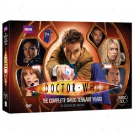 Doctor Who The David Tennant Years Dvd