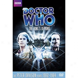 Doctor Who The King's Demons Dvd